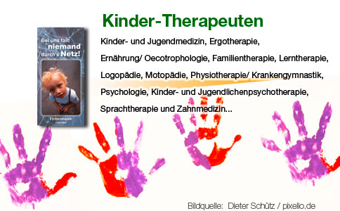 Kinder-Therapeuten Flyer 6-seitig